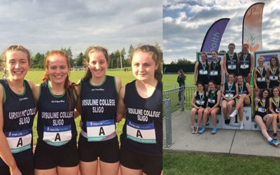 Ursuline Student Athletics Achievements in Irish Schools Athletic Championships 2018