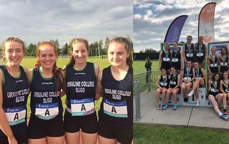 Ursuline Student Athletics Achievements in Irish Schools Athletic Championships 2018