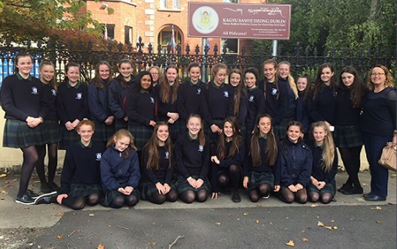 3Cs visit to the Buddhist Centre in Dublin