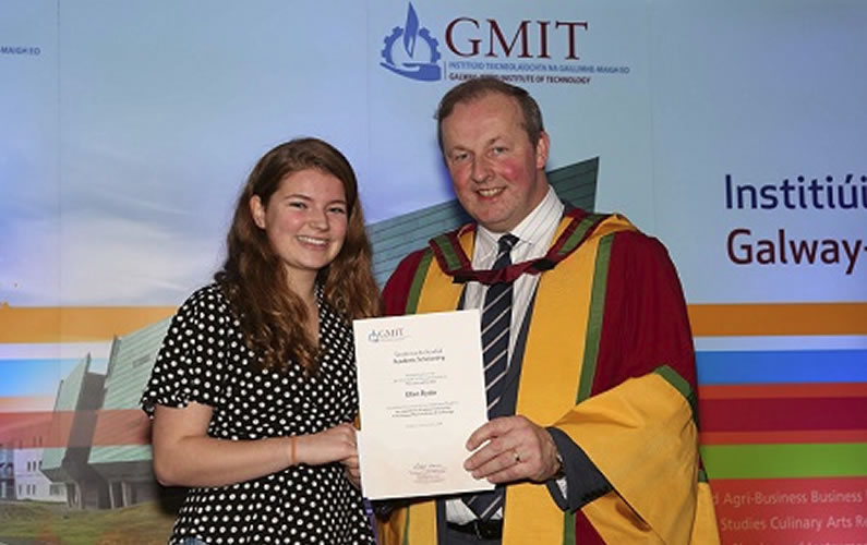 GMIT Scholarship for Ellen Ryder