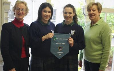 Winners of the 2016 Connaught Irish Schools Senior Cup Golf Tournament