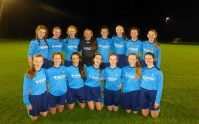 Ursuline College, Sligo secured silver in Lilleshall