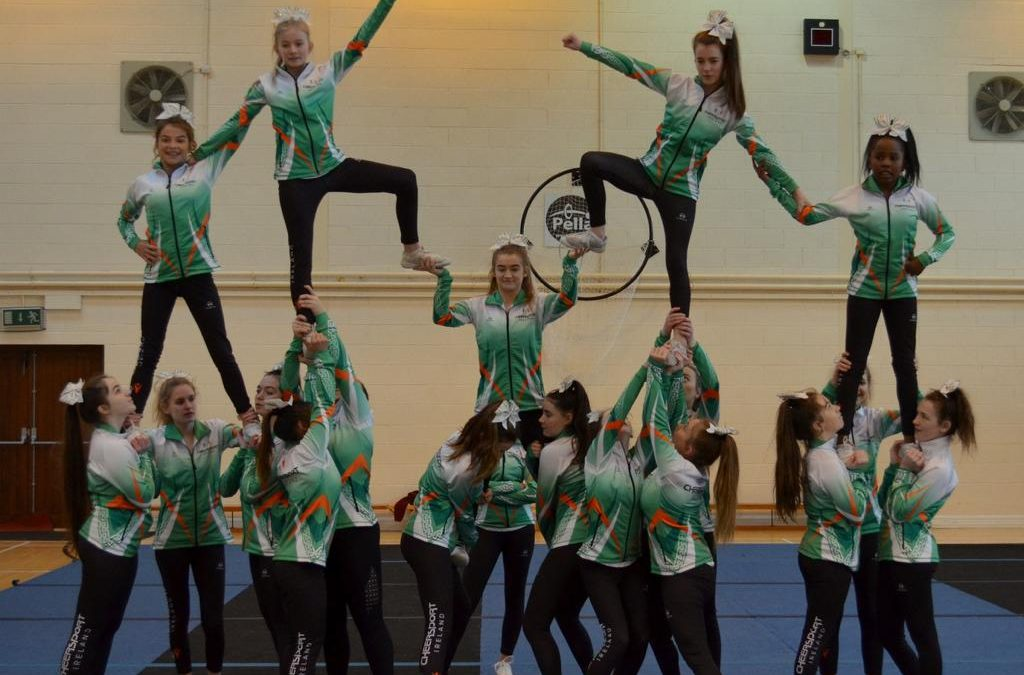First Ever Ursuline Cheerleading  Team Travel to Florida