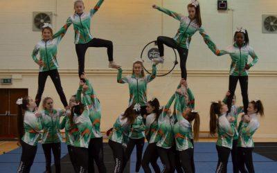 First Ever Ursuline Cheerleading  Team Travel to Florida