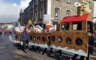 Noah's Ark Survived the Floods and received the Novelty prize in St Patrick's Parade 2019