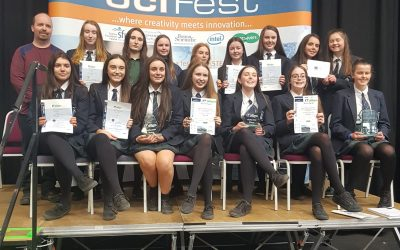 URSULINE COLLEGE SWEEP THE BOARDS AT SCIFEST 2019