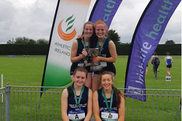 Gold and Silver Medal Success at the All Ireland Athletics Final