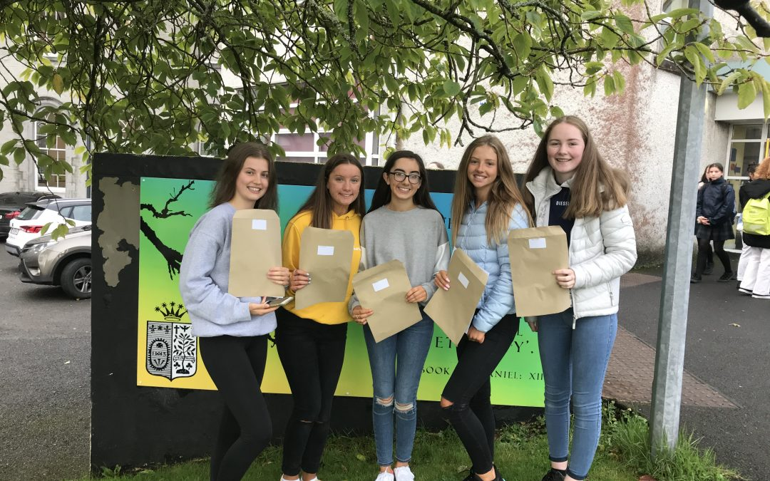 Amazing Junior Cert Results – Congratulations to all