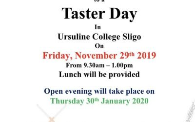 Taster Day in Ursuline College
