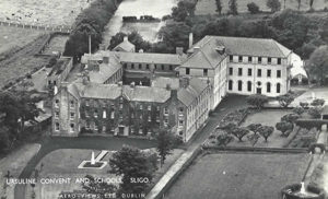 Aerial Shot Ursuline Old School Building Sligo