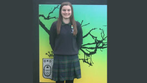 Maura Madden, Pupil Ursuline College Sligo