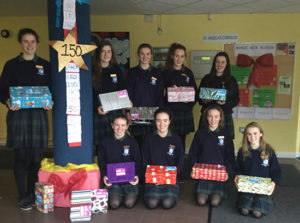 Ursuline College Girls raise funds for Simon Community
