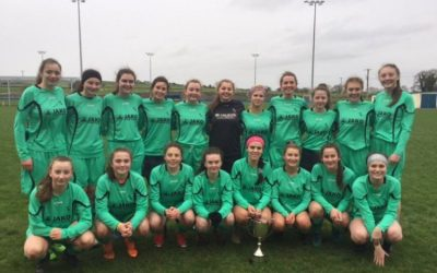 Valiant Effort by Senior Girls Football Team