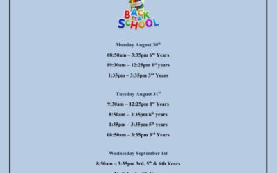 Return Dates and Times